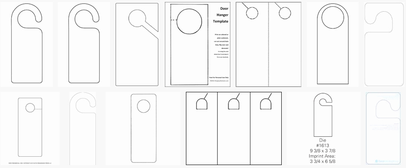 Door Hanger Template Word New About Hangers Constructions Clothes Food and Health