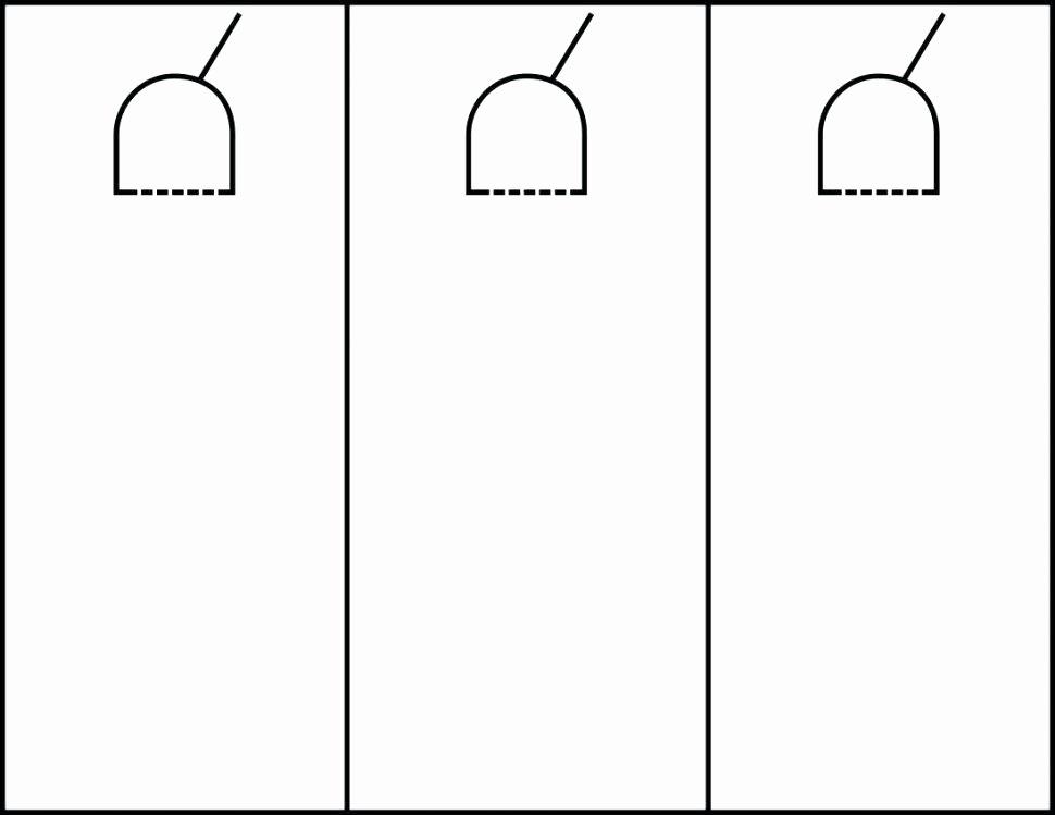 Door Hanger Template Word New Avery Door Hanger Template – Seglive