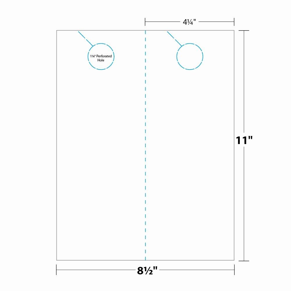 Door Hanger Template Word New Door Hanger Template Indesign Templates Resume