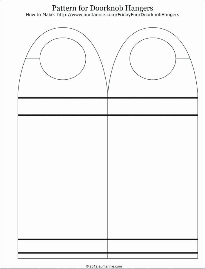 Door Hangers Template Free Fresh Blank Door Hangers – Oldaccentsub