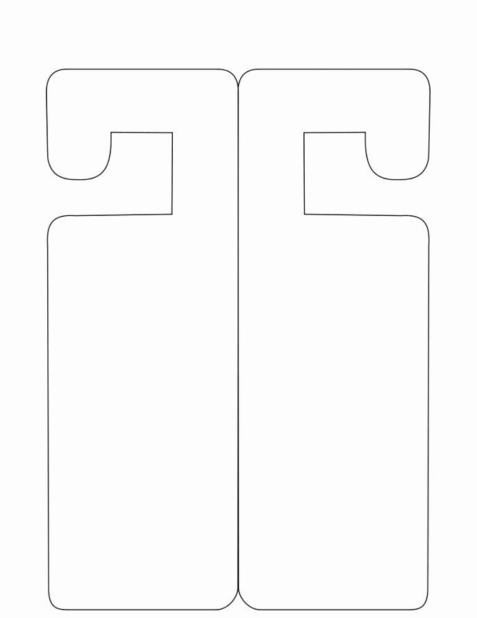Door Hangers Template Free Lovely Printable Do Not Disturb Sign Beautiful Door Hanger Home