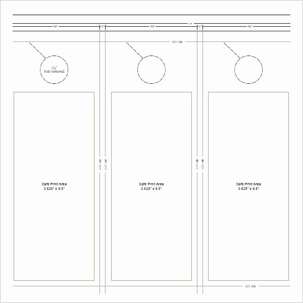 Door Knob Signs Template New Door Hanging Template Printable Hanger Knob Sign