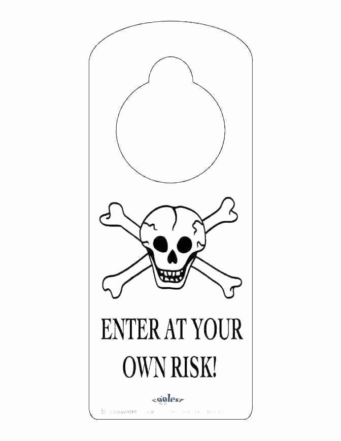 Door Knob Signs Template New Free Printable Door Hanger Template – Enjoyathome