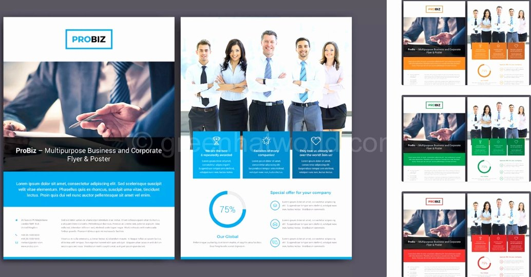 Double Sided Flyer Template Beautiful 51 Unique 2 Sided Brochure Template