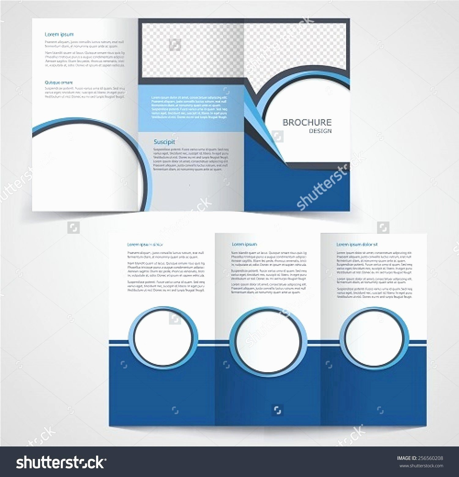Double Sided Flyer Template Fresh Double Sided Tri Fold Brochure Template Reeviewer
