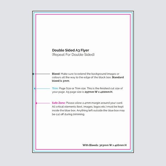 Double Sided Flyer Template Fresh Virtual Print Digital Printers Hamilton