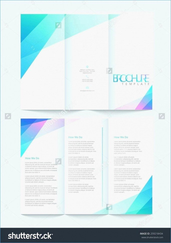 Double Sided Flyer Template Lovely 50 Unique Double Sided Brochure Template Google Docs