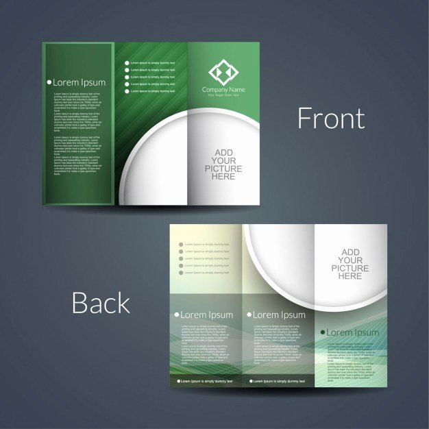 Double Sided Flyer Template New Double Sided Brochure Template Templates Resume