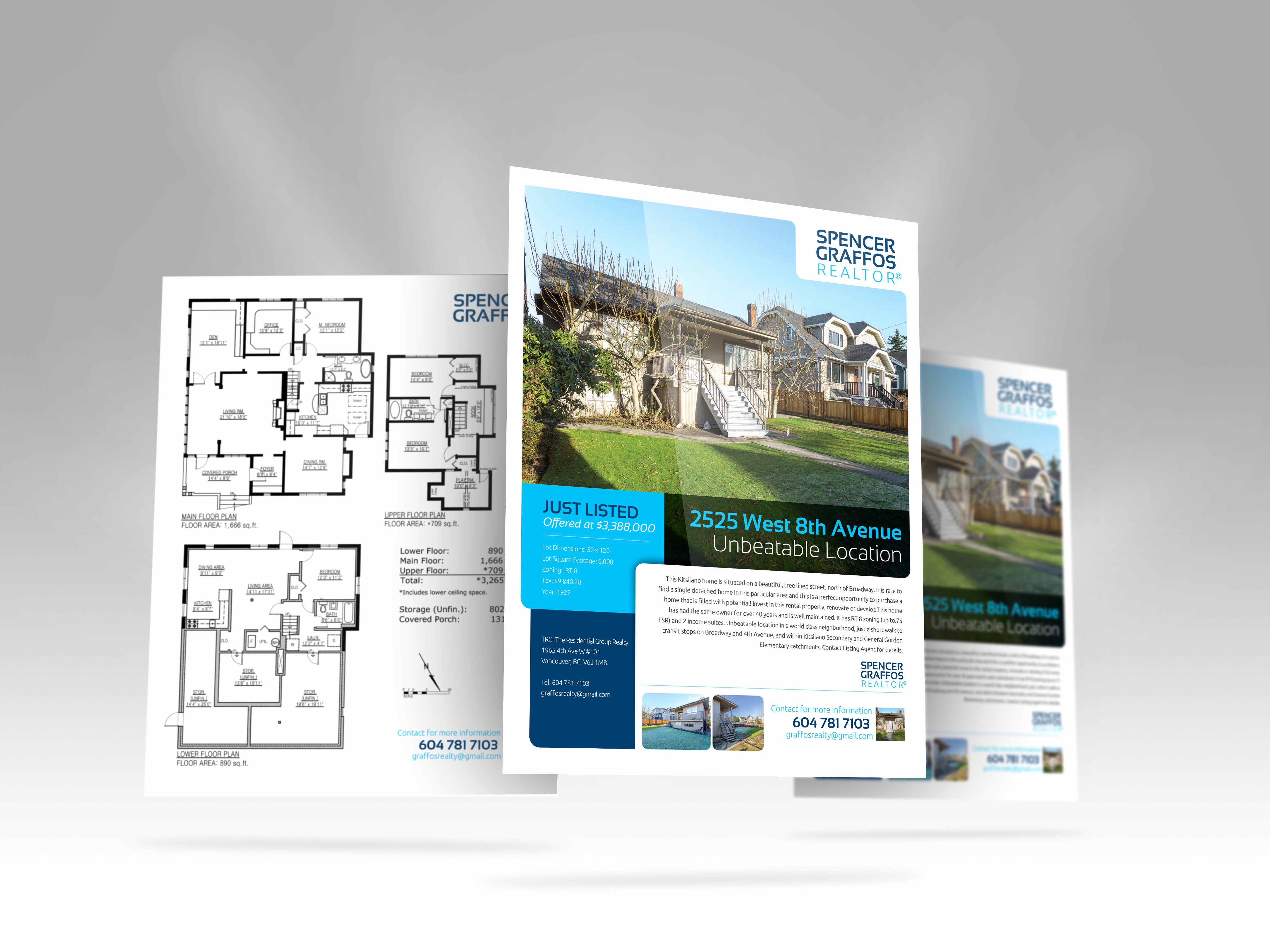 Double Sided Flyer Template New Real Estate Feature Sheet Templates