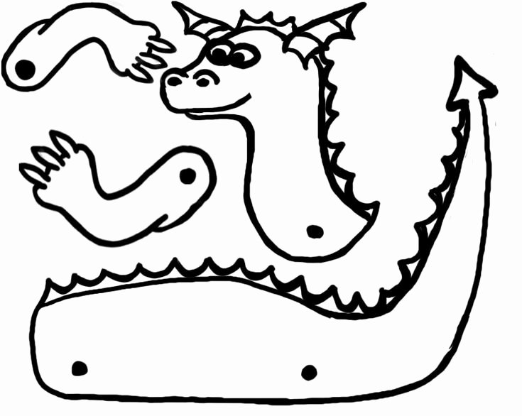 Dragon Cut Out Template Best Of 64 Best Kids Activities Dragons Knights Castles Images