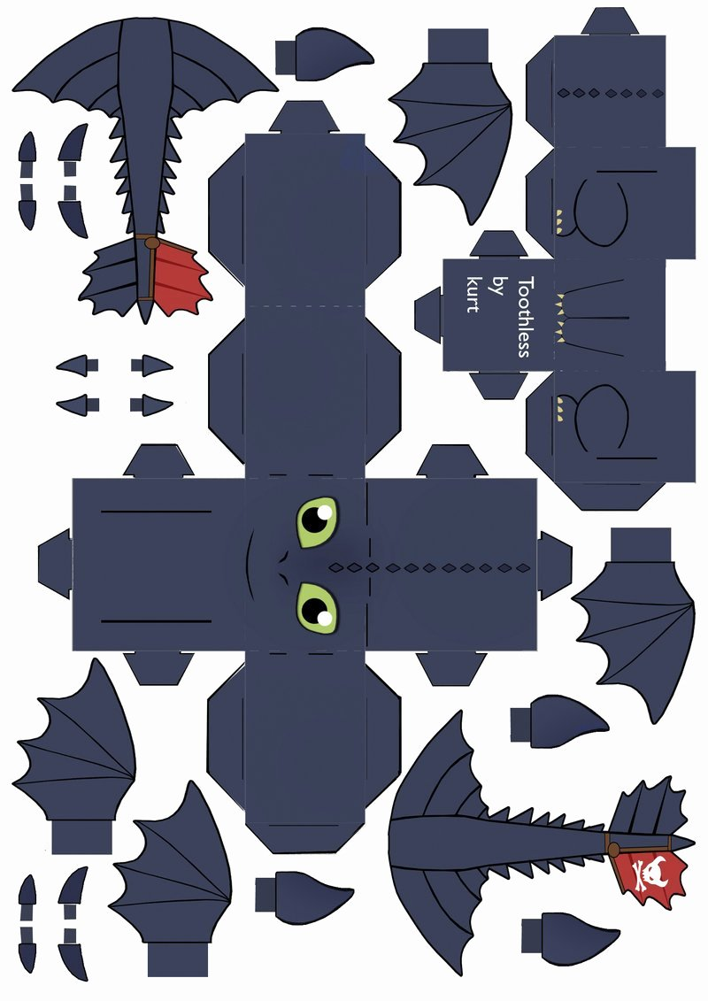 Dragon Cut Out Template Best Of Free How to Train Your Dragon Printables Downloads and