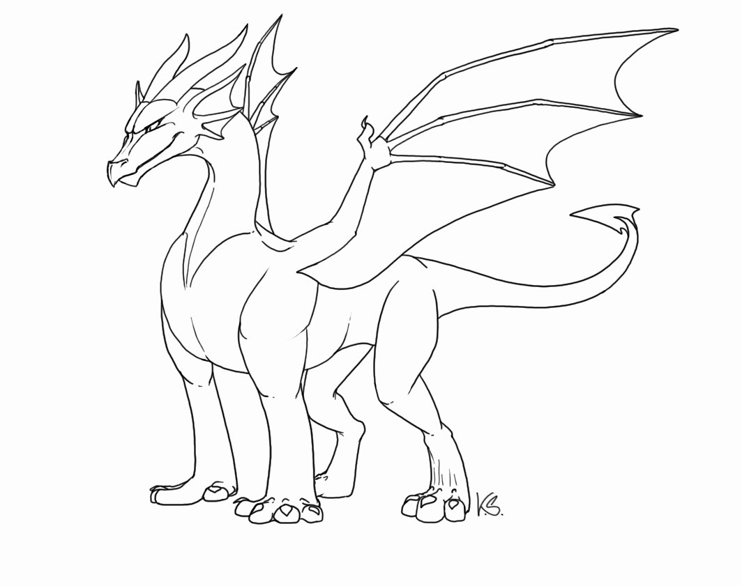 Dragon Cut Out Template Lovely Free Dragon Outlines Ii by Suzidragonlady On Deviantart