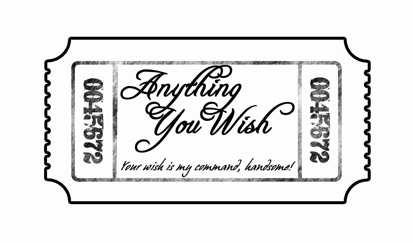 Drink Ticket Template Word Awesome while He Was Napping thoughtful Thursday Love Tickets