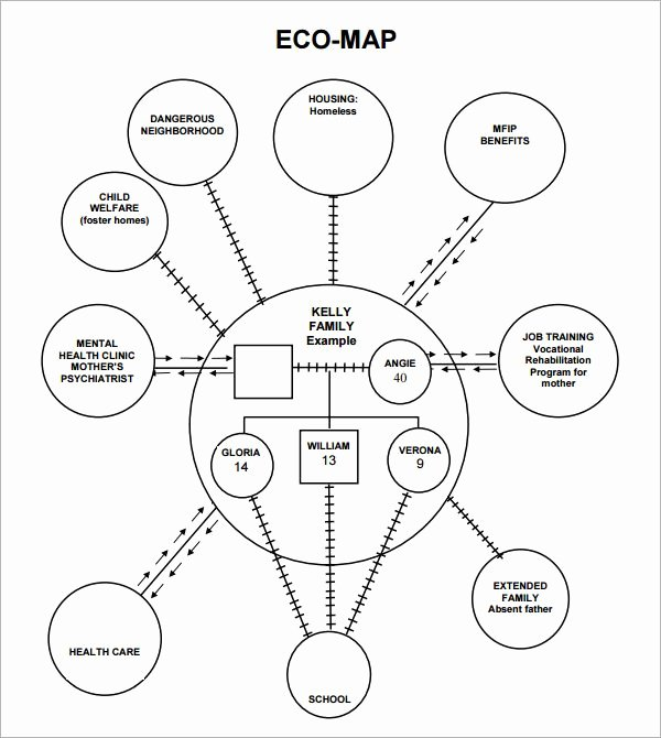 Ecomap social Work Template New E Ap Google Search Couple and Family