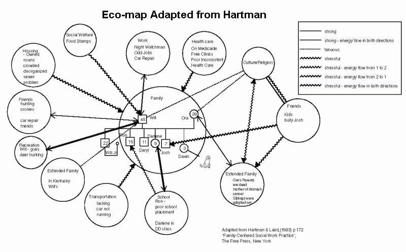 Ecomap social Work Template Unique E Ap Examples Genogram Analytics