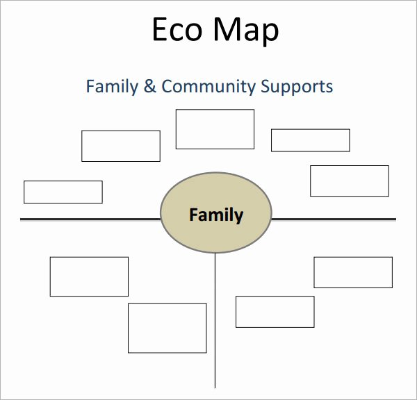 Ecomap social Work Template Unique E Ap Template 5 Download Free Documents In Pdf Word