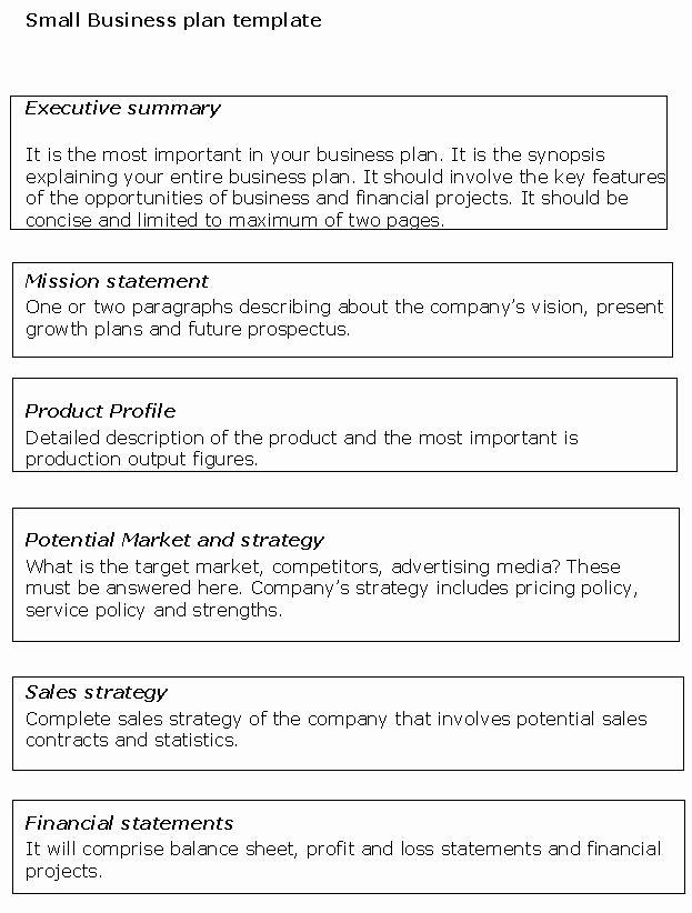 Ecommerce Business Plan Template Elegant Business Plans Templates