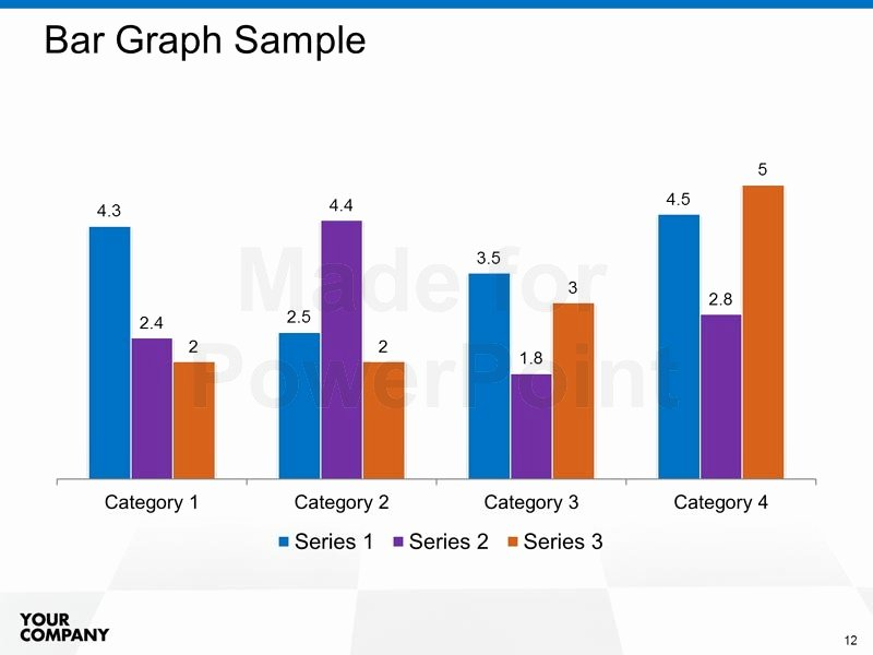Editable Bar Graph Template Beautiful Seminar Presentation Powerpoint Template