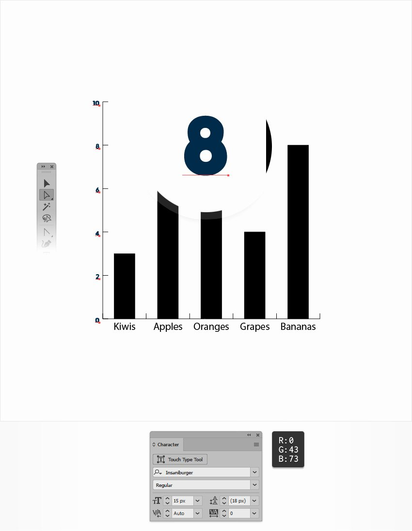 Editable Bar Graph Template Fresh How to Create An Editable Bar Chart In Adobe Illustrator