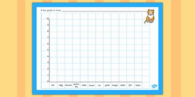 Editable Bar Graph Template Inspirational Class Pets Bar Graph Template Class Pets Bar Graph Template