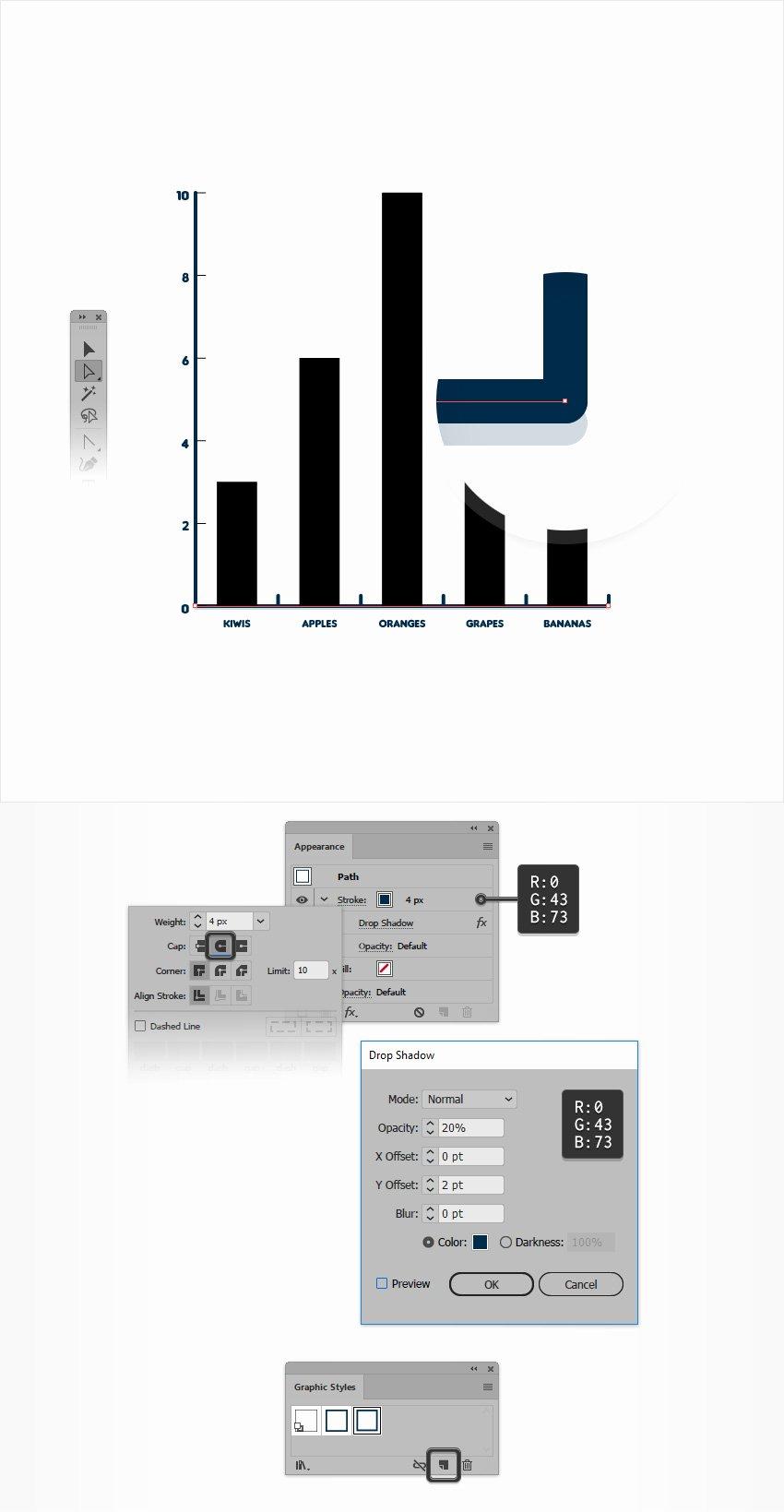 Editable Bar Graph Template Luxury How to Create An Editable Bar Chart In Adobe Illustrator