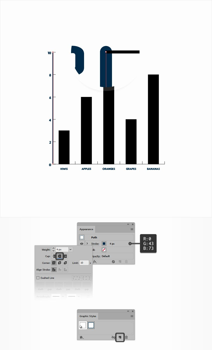 Editable Bar Graph Template Unique How to Create An Editable Bar Chart In Adobe Illustrator