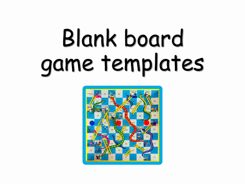 Editable Board Game Template Lovely Blank Board Game Templates by Choralsongster Teaching