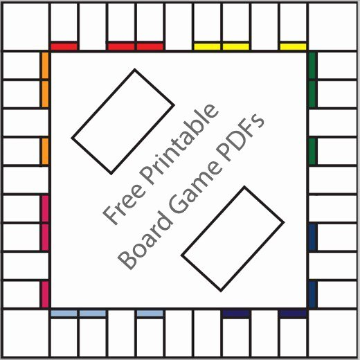 Editable Board Game Template Luxury 16 Free Printable Board Game Templates