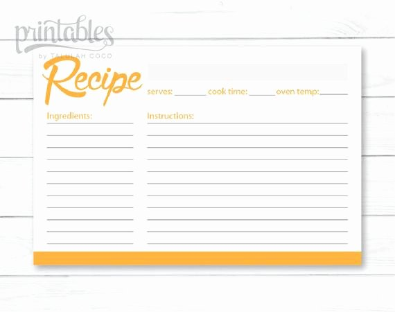 Editable Recipe Card Template Best Of Printable Recipe Cards Editable Recipe Card Template