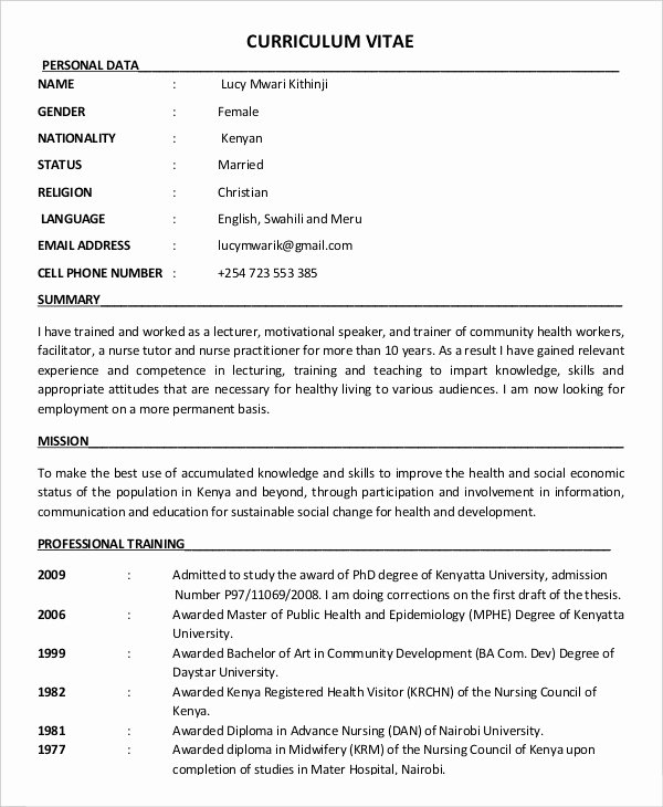 Education Resume Template Free Beautiful 10 Education Resume Templates Pdf Doc