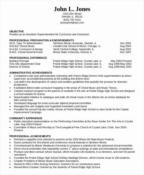 Education Resume Template Free Elegant 10 Education Resume Templates Pdf Doc