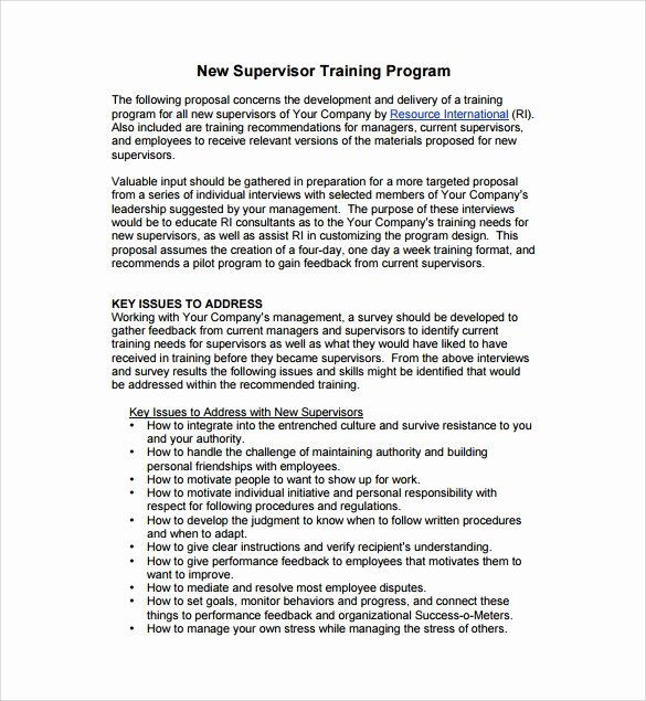 Educational Program Proposal Template Awesome 8 Sample Program Proposal Templates to Download