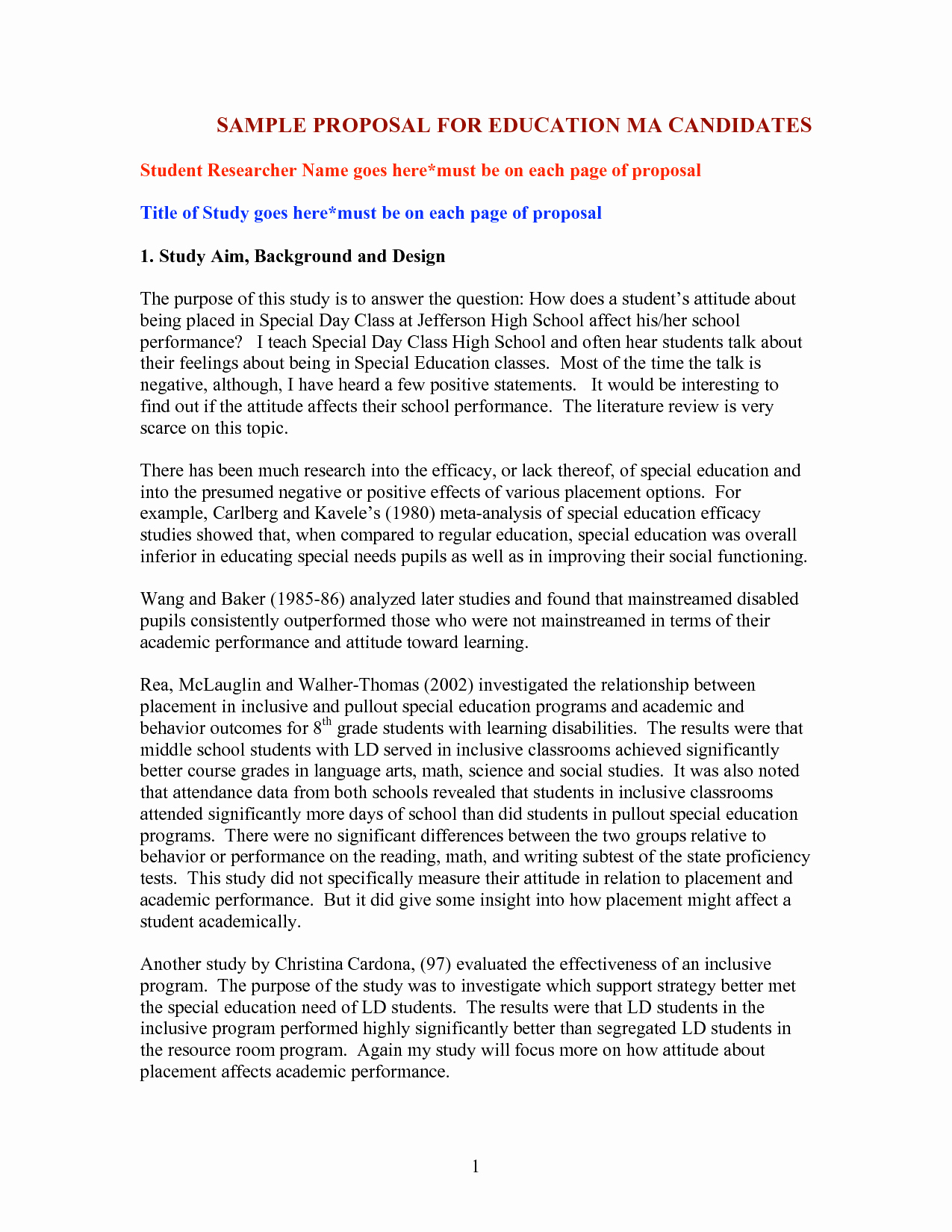 Educational Program Proposal Template Awesome Best S Of Sample Educational Proposal Example