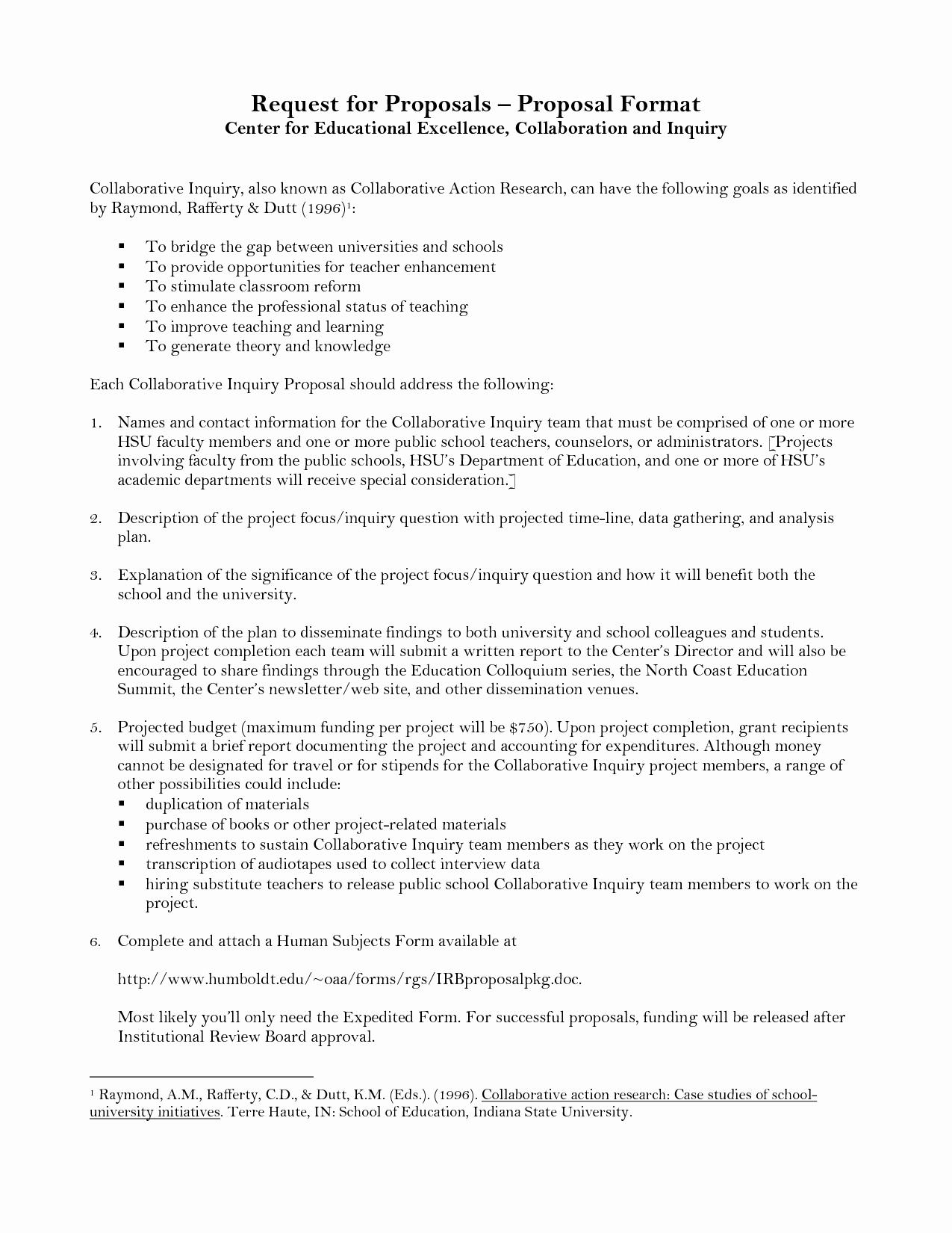 post sample educational proposal