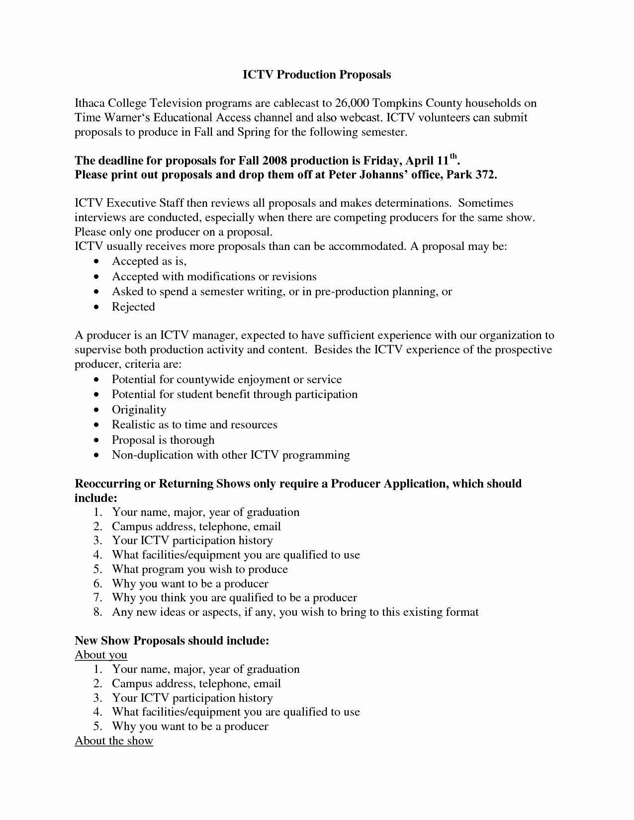 Educational Program Proposal Template New Best S Of Sample Educational Proposal Example
