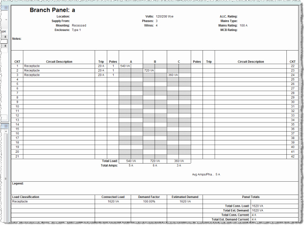 Electric Panel Schedule Template Lovely Electrical Panel Schedule Excel Template Electrical Panel