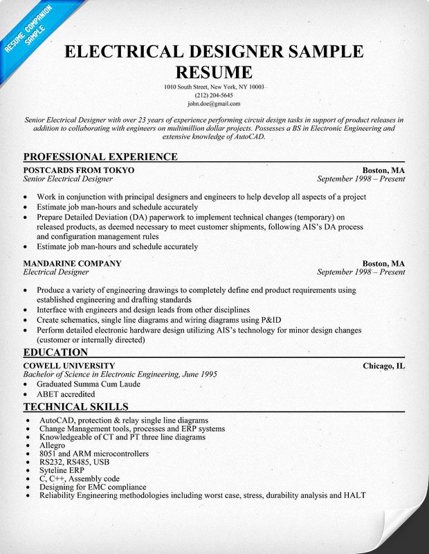 Electrical Engineer Resume Template Best Of Electrical Engineer Resume