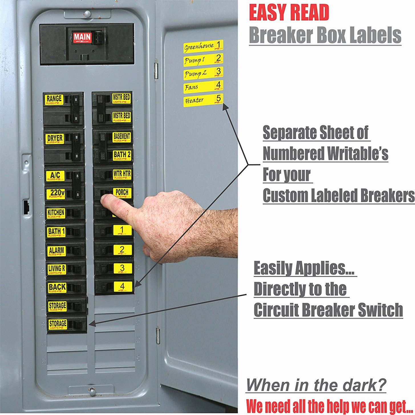 Electrical Panel Labels Template Awesome 15 Various Ways to Do Breaker