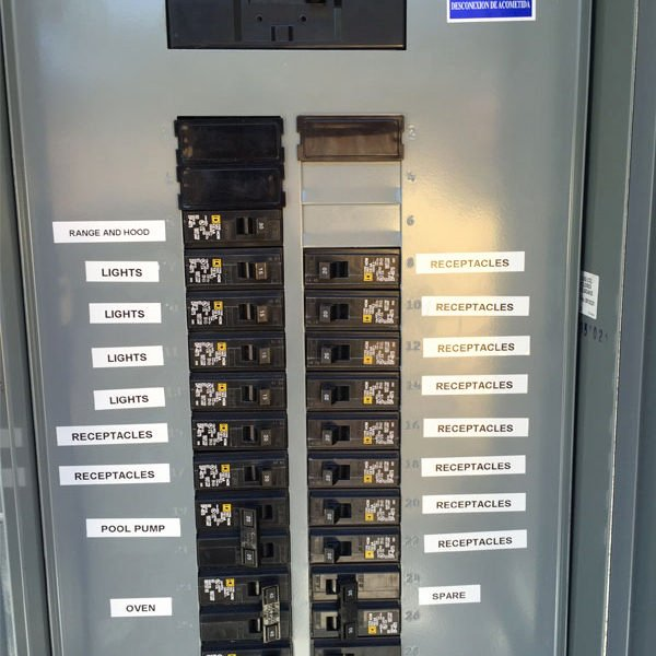 Electrical Panel Labels Template Inspirational $89 Circuit Breaker Panel Labeling and Home Electrical