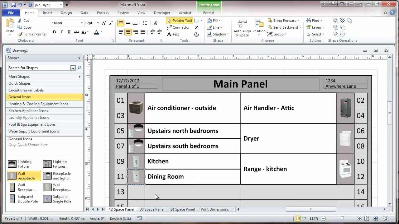 Electrical Panel Labels Template Inspirational Breaker Panel Label Template Related Keywords Breaker