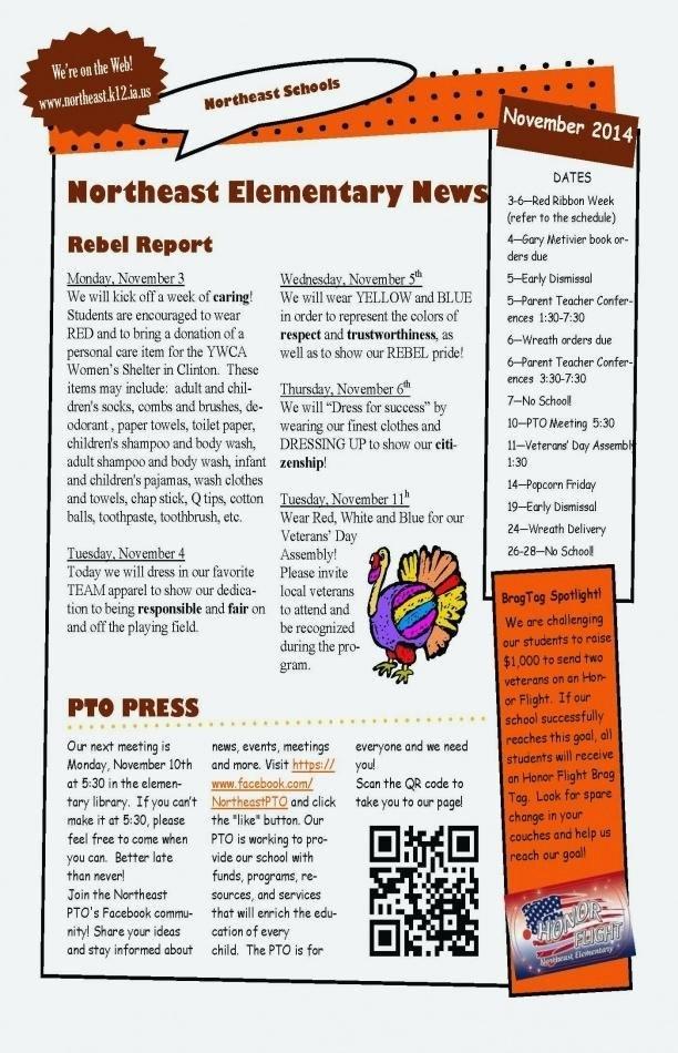 Elementary School Newsletter Template New the Crafty Teacher Newsletter Templates Free Editable