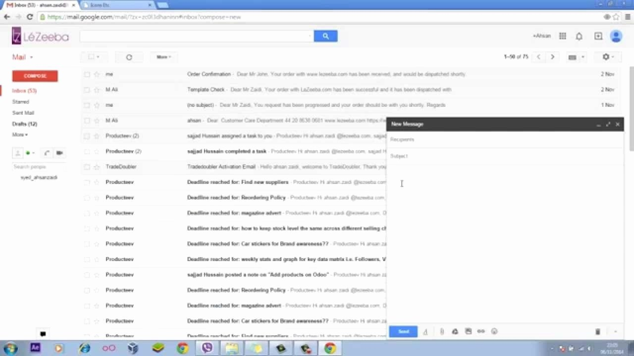 Email Template for Gmail Awesome Gmail Template Emails