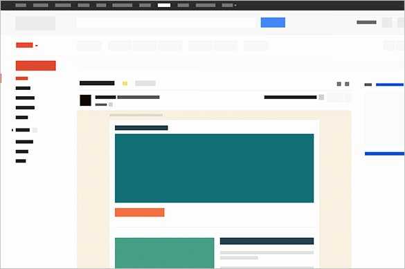 Email Template for Gmail Beautiful 14 Google Gmail Email Templates – HTML Psd Files