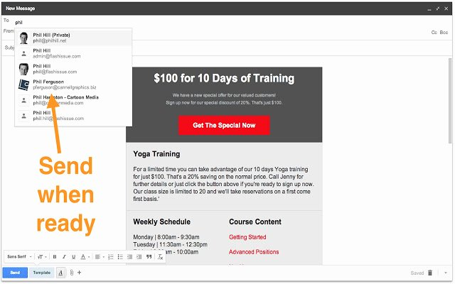 Email Template for Gmail Inspirational Gmail Custom Email Template