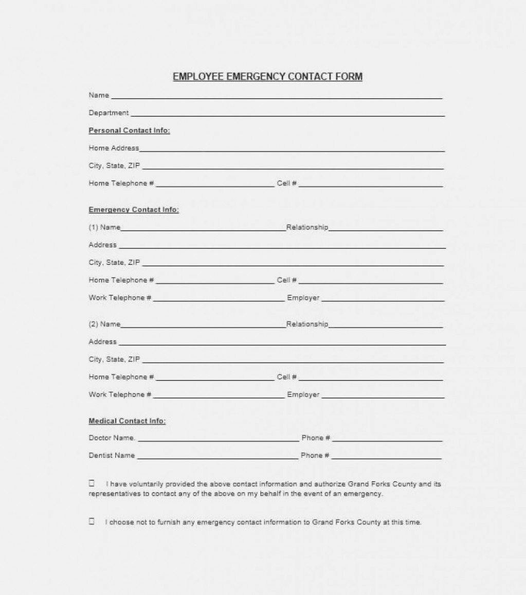 Emergency Contact form Template Luxury the Death Student Emergency Contact form