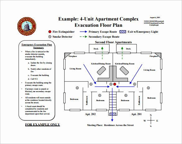 Emergency Evacuation Plan Template Awesome Emergency Evacuation Plan Template Free Templates