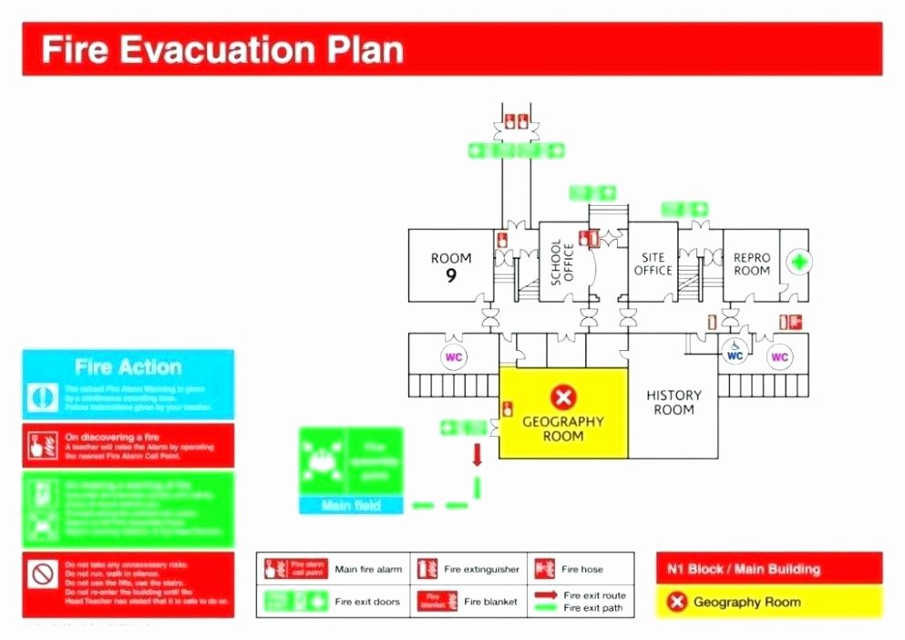 Emergency Evacuation Plan Template Awesome Fire Exit Plan Template Fire Escape N Temte Lovely