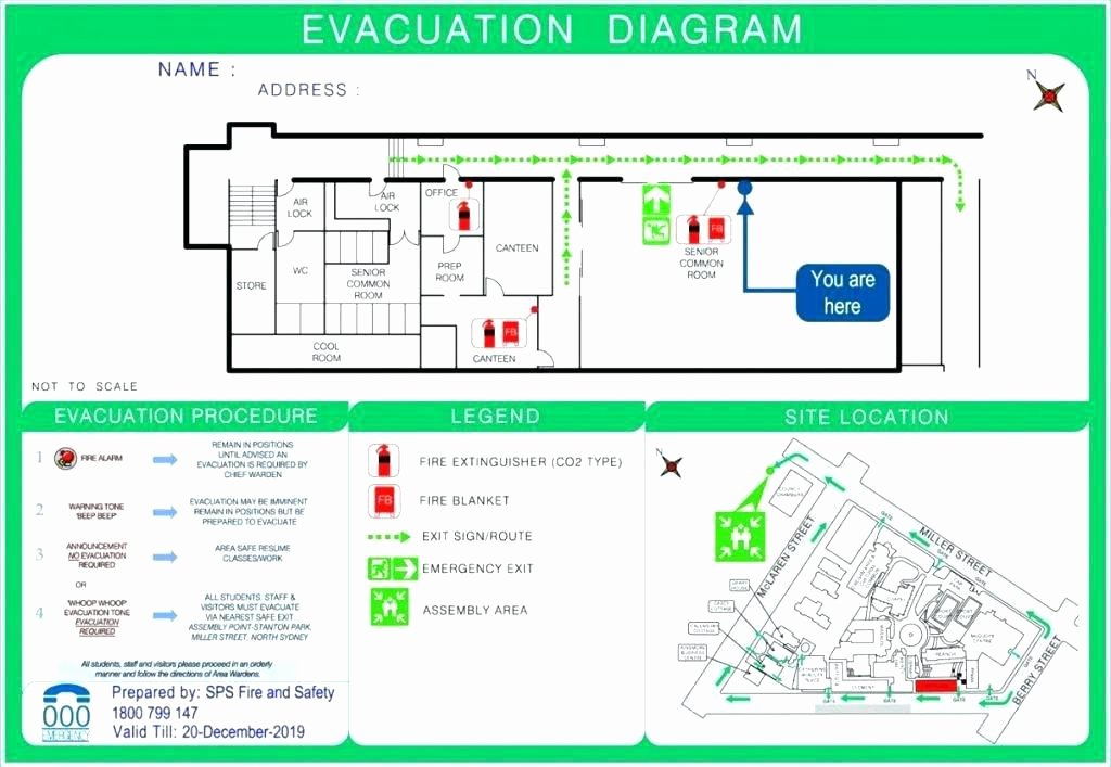 Emergency Evacuation Plan Template Elegant Emergency Evacuation Plan