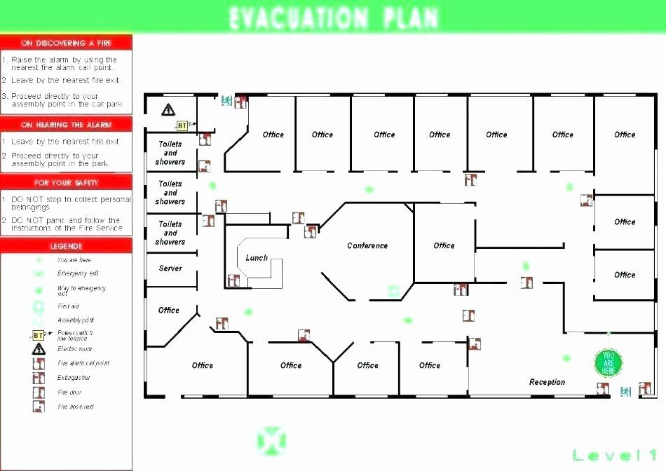 Emergency Evacuation Plan Template Lovely Fire Safety Evacuation Procedures Template Emergency Plan