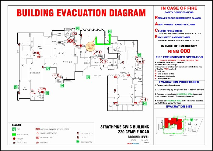 free fire evacuation plan template